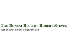 Robert Steven的盆景博客 The Bonsai Blog of Robert Steven