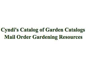 辛迪的邮购园艺资源 Cyndi's Catalog of Garden Catalogs