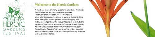 英雄花园节,Heroic Gardens