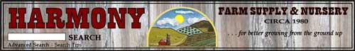 哈莫尼农场用品和苗圃,Harmony Farm Supply & Nursery