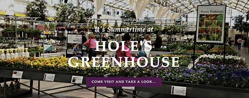 Hole的温室和花园有限公司,Hole's Greenhouses & Gardens