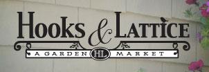 种植盆和悬吊盆商店,Hooks and Lattice Garden Market