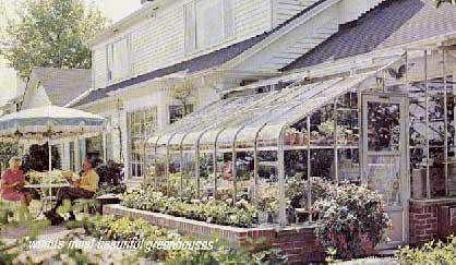 玻璃下的花园,Garden Under Glas Greenhouse Distributor