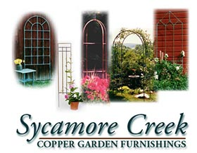 梧桐河花园藤架, Sycamore Creek Copper Garden Furnishings