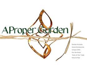 独特花园装饰, A Proper Garden