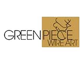 绿地金属丝艺术, Green Piece Wire Art