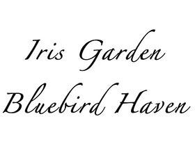 蓝色知更鸟鸢尾园, Bluebird Haven Iris Garden