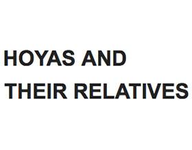 球兰家族, HOYAS AND THEIR RELATIVES