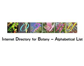 Internet Directory for Botany ,互联网植物学目录