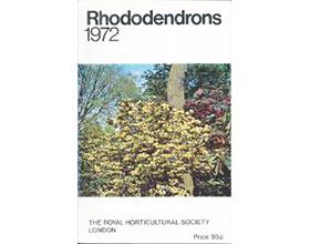 杜鹃、木兰和山茶1972年版 Rhododendrons 1972 with Magnolias and Camellias