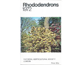 杜鹃、木兰和山茶1972年版 Rhododendrons 1972 with Magnolias and Camellias