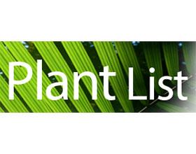 植物清单 The Plant List