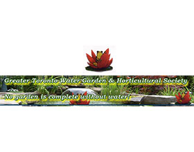 加拿大大多伦多水上花园和园艺俱乐部 GREATER TORONTO WATER GARDEN & HORTICULTURAL SOCIETY.