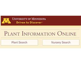 美国明尼苏达大学植物信息在线 Plant Information Online