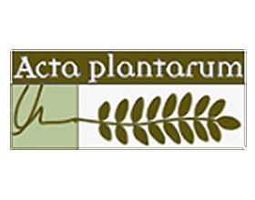 意大利地区的植物群 Acta Plantarum