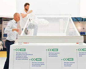 玻璃纤维温室建筑 FIBREGLASS GREENHOUSE CONSTRUCTIONS