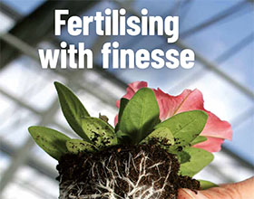巧妙地施肥 Fertilising with finesse