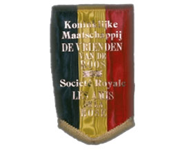 "比利时皇家和国家玫瑰协会玫瑰之友网 The Royal and National Rose Society ""De Vrienden van de Roos""."