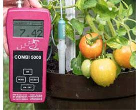 用COMBI 5000结束植物营养的猜谜游戏